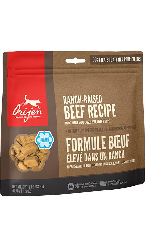 ORIJEN FD Treats Ranch-Raised Beef Dog