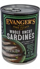EVANGER'S Hand-Packed Sardynki