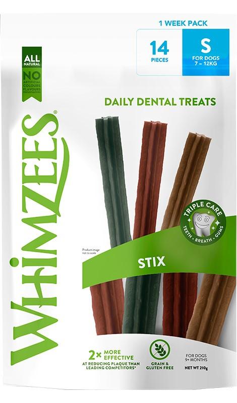 WHIMZEES 2 Week Pack Stix S 14szt