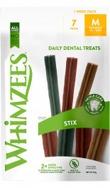 WHIMZEES 1 Week Pack Stix M...